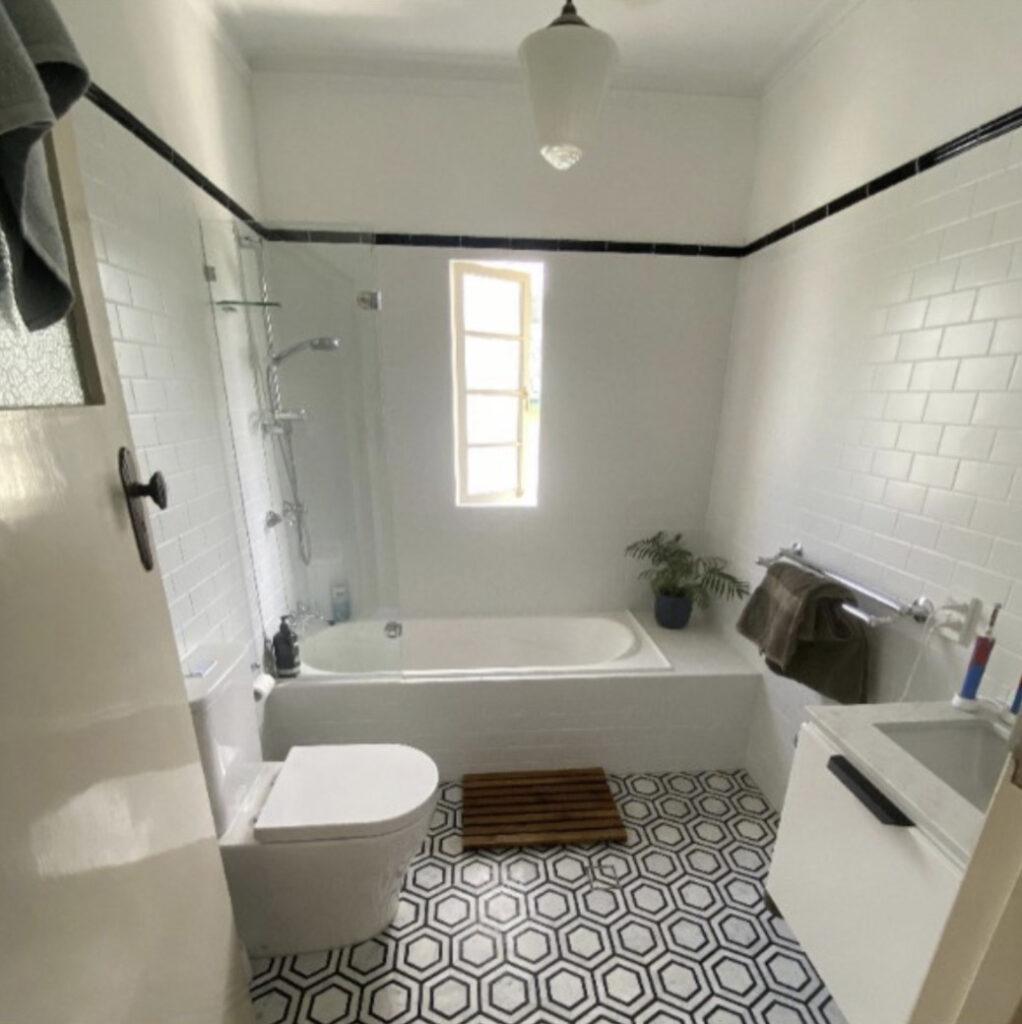 Keperra Bathroom Renovation Traditional to Modern bathroom